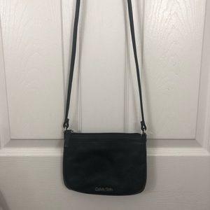 Calvin Klein Mini Leather Crossbody Bag